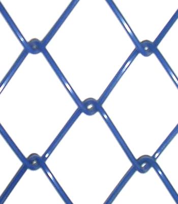 Tela Alambrado revestido em PVC Azul